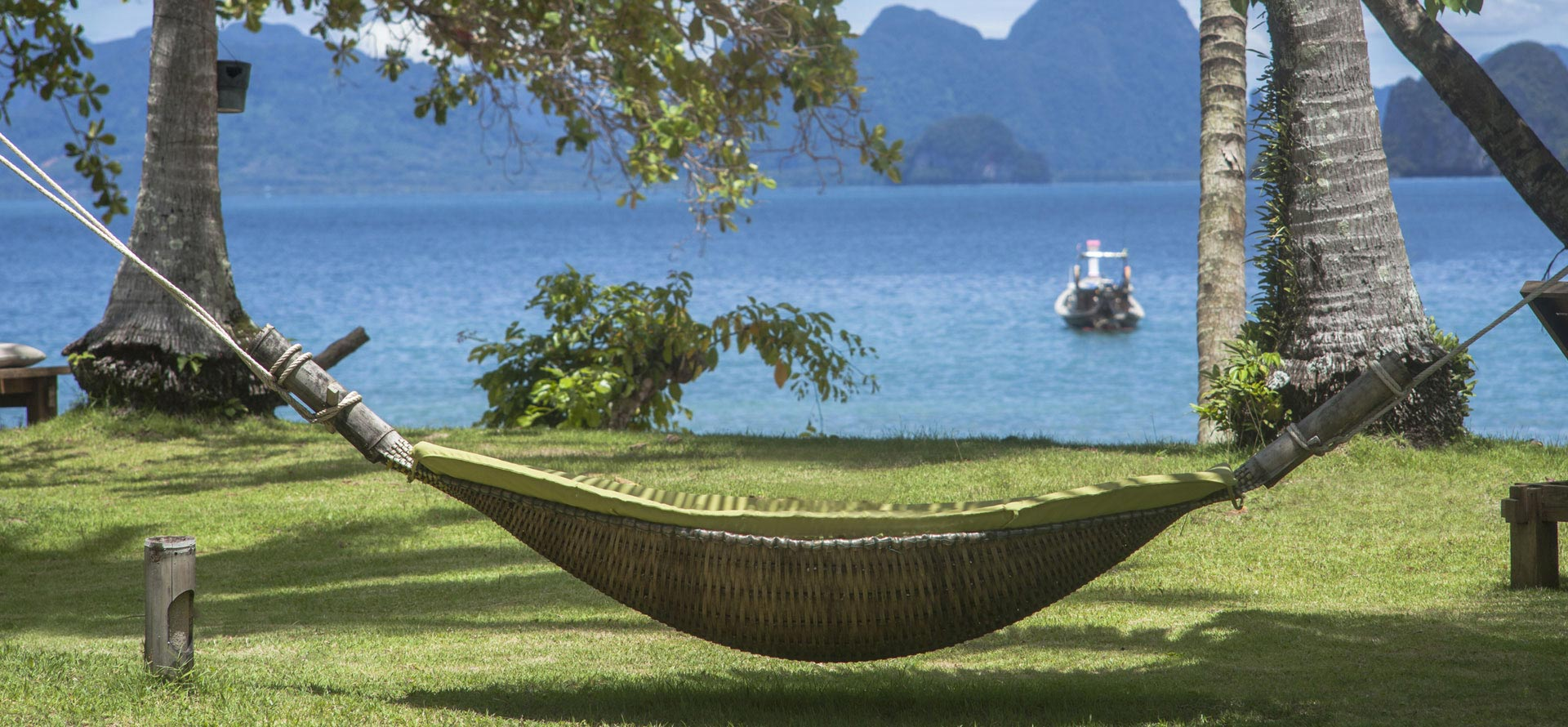 Hammock overlooking phang nga bay